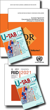 Road and Rail Pack - ADR 2021 and RID 2021